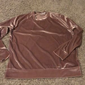 Boutique Velvet Sweatshirt